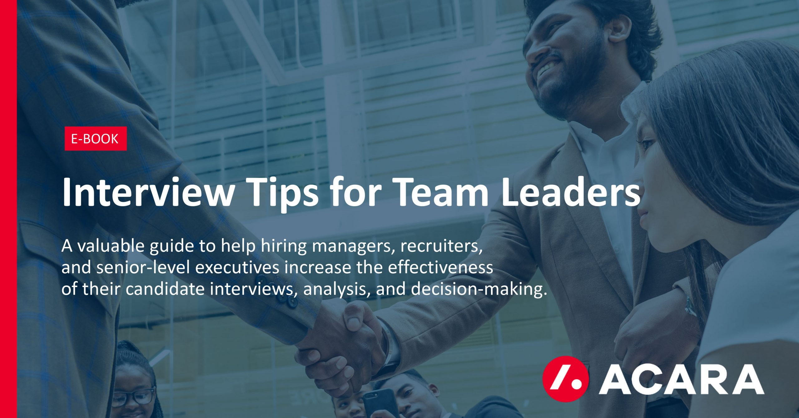 Interview Tips for Team Leaders